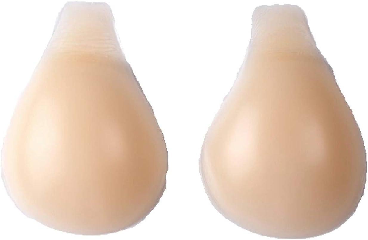 SturdyFoot Adhesive Strapless Bra Reusable Push Up Bra Super Sticky Easy Wear Instant Lift
