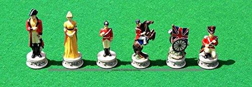 おすすめ Italfama Waterloo Chess Chess Pieces - Waterloo Hand-Painted Resin, Hand-Painted B07BL1ZJ7M, streamplus:7a956b8e --- nicolasalvioli.com