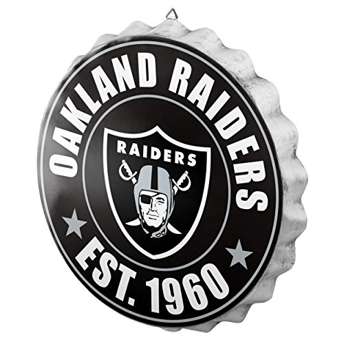 Oakland Raiders 2016 Bottle Cap Wall Sign