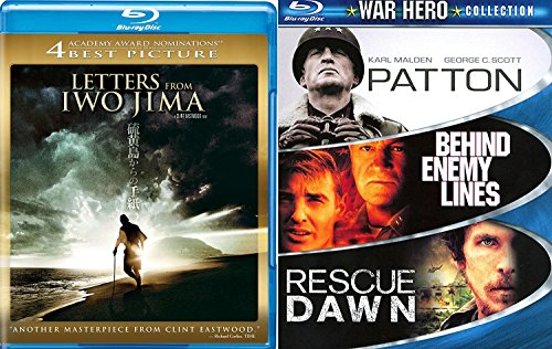 Letters from Iwo Jima Blu Ray War Hero - Escape From Fire River