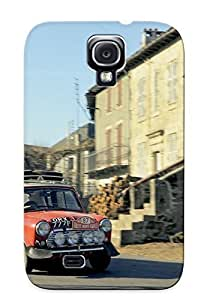 lintao diy Alexanderdson High-quality Durability Case For Galaxy S4(1964 Morris Mini Cooperrally Ado15 Race Racing Classic Coopersc )