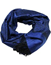 Paisley Men Women Fashion All Season Pashmina Silk Soft Warm Large Scarf Wrap Shawl