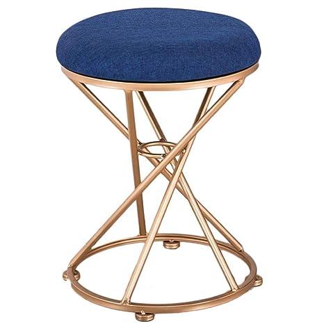 Outstanding Amazon Com Ttz Small Seat Sofa Iron Stool Fabric Lazy Soft Inzonedesignstudio Interior Chair Design Inzonedesignstudiocom