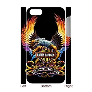 Harley-Davidson theme pattern design For Apple iPhone 4,4S(3D) Phone Case