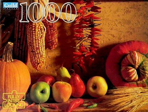 se descuenta Harvest Fruits Interlocking Puzzle 1000 Pieces by Guild Guild Guild  Vuelta de 10 dias