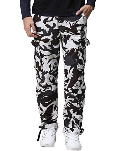 White Camo Pants - 6