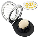 Egg Cutter Slicer with 3 Slicing styles,stainless steel