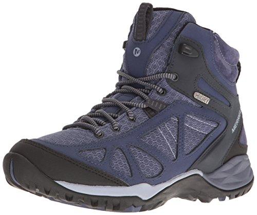 Q2 Siren Hiking Women's Merrell Sport Boot Mid Waterproof Blue Crown nOHtgx7