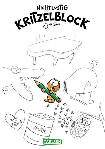 Nichtlustig-Kritzelblock Taschenbuch – 13. März 2015 Joscha Sauer Carlsen 355168300X HUMOR / General