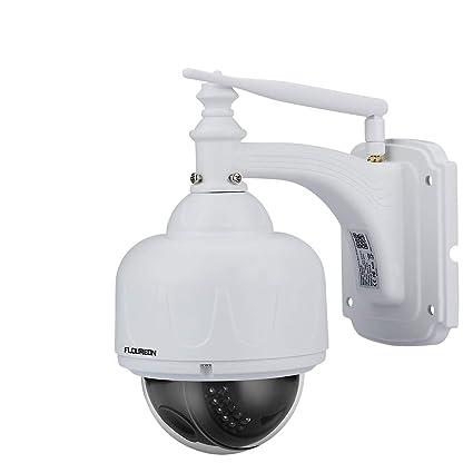 Cámara de videovigilancia, de Floureon, 1080p, cámara IP WiFi, ONVIF, 4x