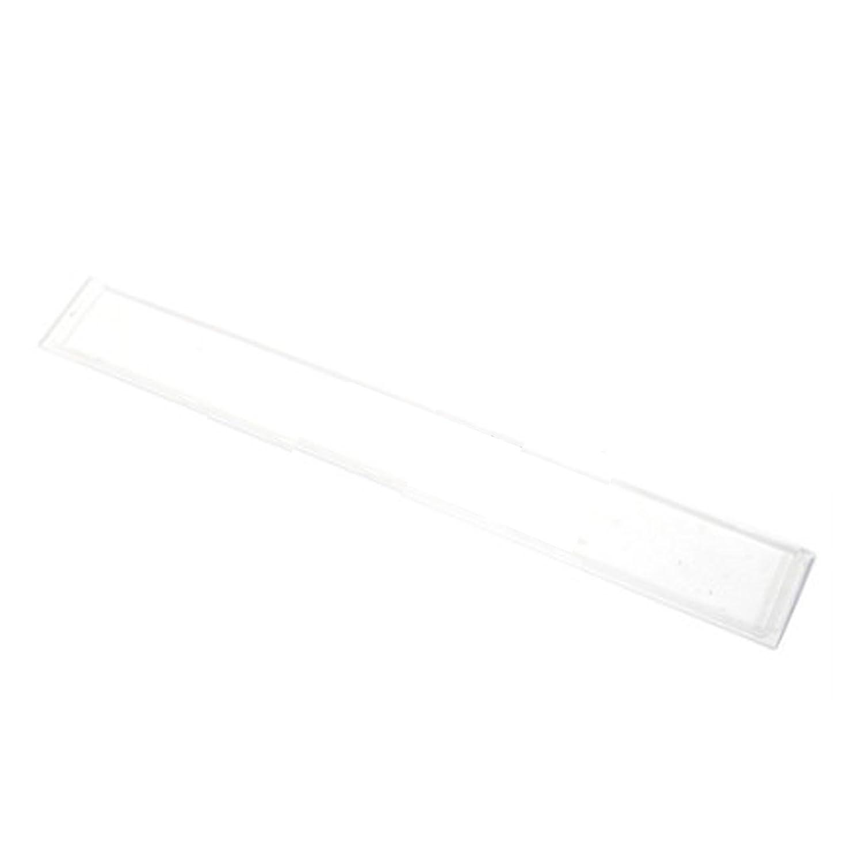 SPARES2GO Plastic Light Diffuser for Hygena Cooker Hood (387mm)