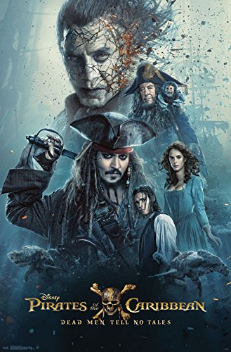 Trends International Wall Poster Potc Dead Men Tell No Tales