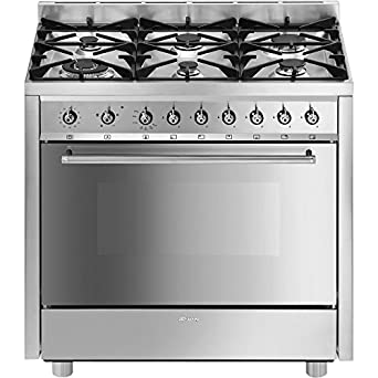 SMEG CUCINA A GAS C91GVXI-2: Amazon.co.uk: Large Appliances