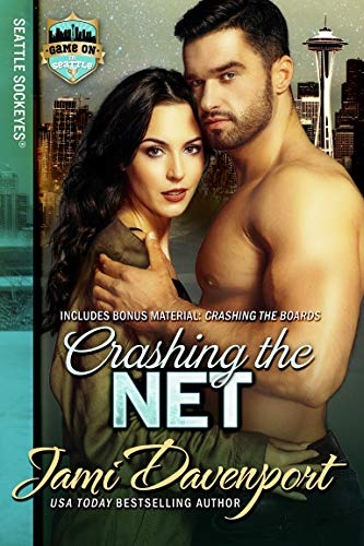 Crashing the Net: Game On in Seattle (Seattle Sockeyes Series Book 2) by [Davenport, Jami]