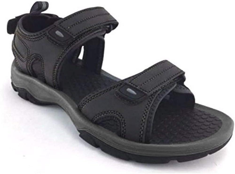 Khombu Men's Barracuda Sport Sandals Black
