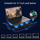 Laptop Cooling Pad, Laptop Cooler with 6 Quiet