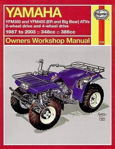 yamaha atvs timberwolf bruin bear tracker 350er and big bear 1987 rh amazon com Yamaha Timberwolf Parts 1998 Yamaha Timberwolf Manual