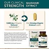 Himalaya Organic Shatavari, Equivalent to 3,623