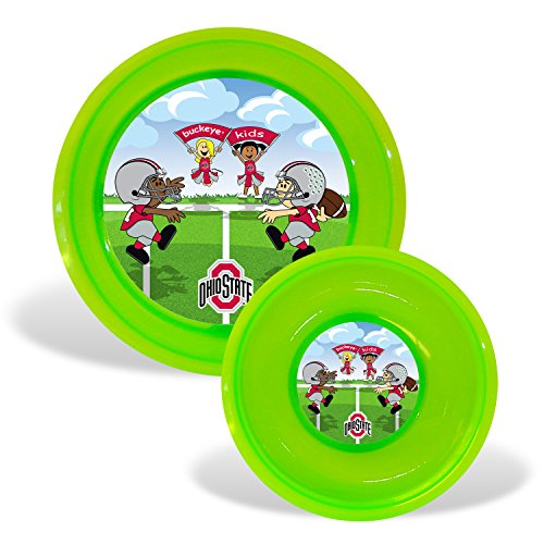 Baby Fanatic Plate and Bowl Set, Ohio State University ()