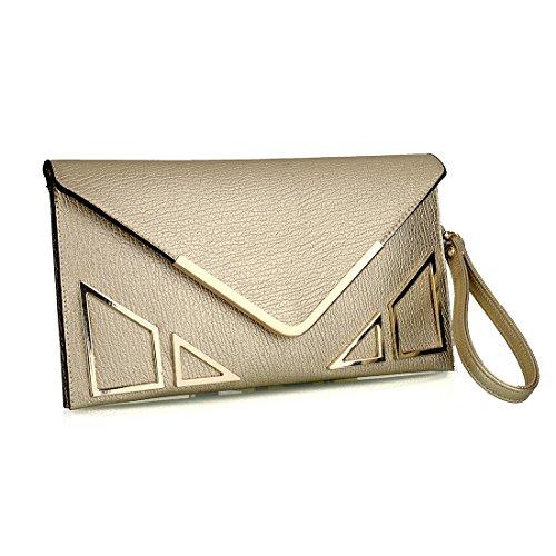 SSMK Pochette silver femme pour Bag Evening 8ArU8