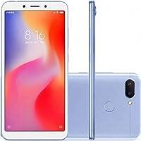 Smartphone Xiaomi Redmi 6 dual 32GB Camera dupla 12+5MP - Azul