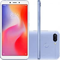 Smartphone Xiaomi Redmi 6 dual 32GB Camera dupla 12+5MP - Azul