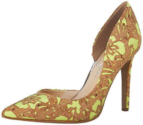 Pumps Jessica Yellow Nat Simpson Claudette Women's Laser B0Ar0