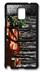 Adorable coniferous trees forest Hard Case Protective Shell Cell Phone Samsung Galaxy S5 I9600/G9006/G9008