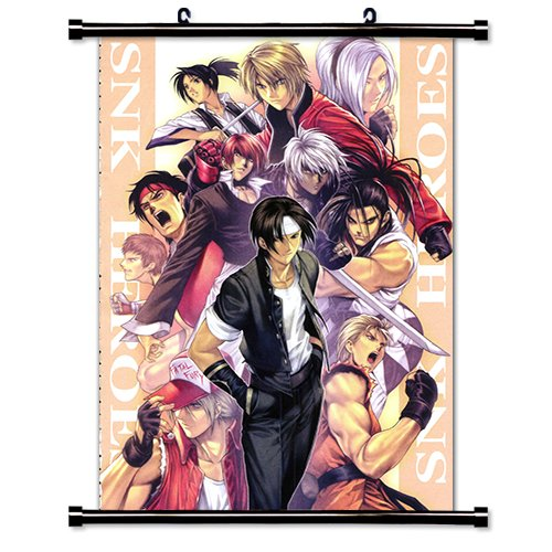 King of Fighters Anime Fabric Wall Scroll Poster (16x23) Inches. [WP]- King of Fighters-13