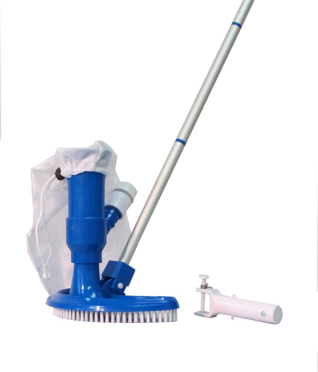 Amazon.com : Pool & Spa Jet Vacuum w/ Brush, Bag, Hose Adapter ...