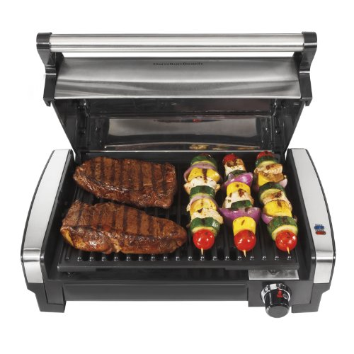Hamilton Beach (25360) Electric Smokeless Indoor Grill & Searing Grill with Removable Plates by Hamilton Beach (Image #6)