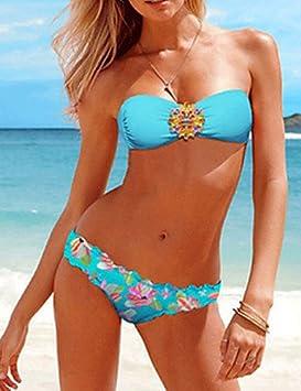 03ed16d40efa CH y ChMuairen? Mujeres europeas y americanas Sexy Bikini Color ...