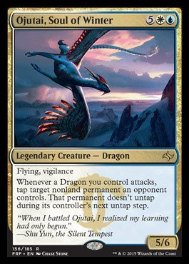 Magic: the Gathering - Ojutai, Sould of Winter (156/185) - Fate Reforged - Foil