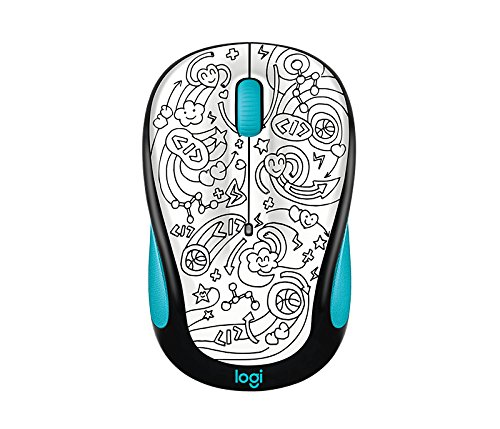 Logitech M325c Wireless Mouse Brainstorm Teal