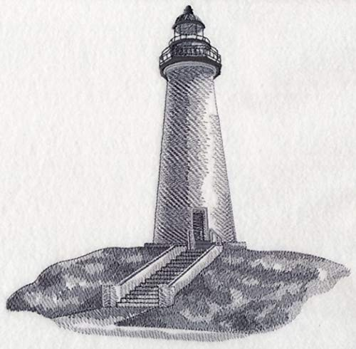 Port Isabel Lighthouse Texas Custom Embroidered Sweatshirt - Lighthouse Texas