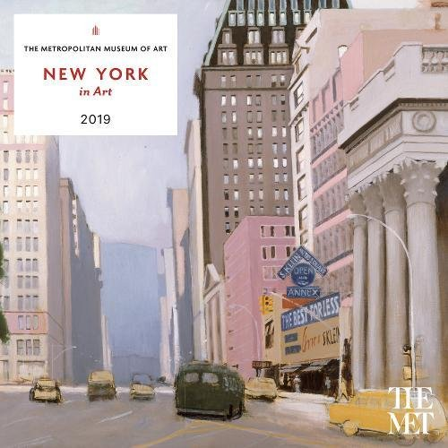 New York in Art 2019 Wall Calendar