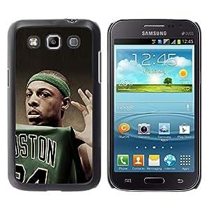 iKiki Tech / Estuche rígido - Boston Baloncesto - Samsung Galaxy Win I8550