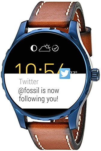 Fossil Q Marshal Gen 2 Touchscreen Brown Leather