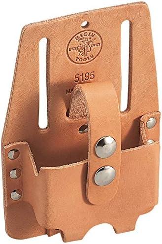 Klein Tools 5195 Tape Measure Holder, Leather, Medium