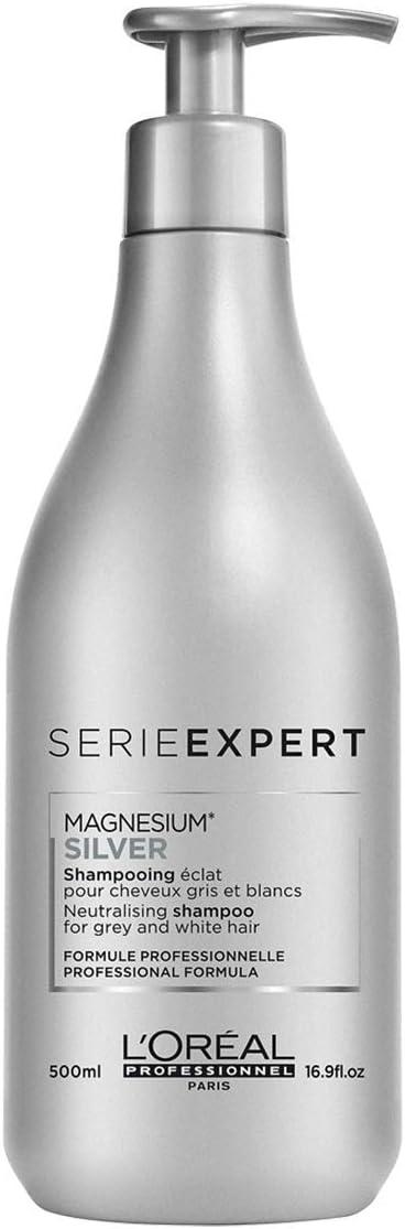 LOréal Professionnel Magnesium Silver - Champú morado oscuro ...