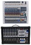 Peavey XR1212 12 Channel Mixer w/ 2 600w Amplifiers XR 1212 XR1212P+Free Mixer !