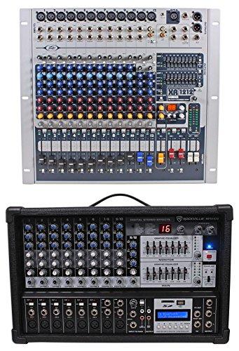 Peavey XR1212 12 Channel Mixer w/ 2 600w Amplifiers XR 1212 XR1212P+Free Mixer ! by Peavey
