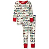 Moon and Back Organic Two-Piece Pajamas, Road...