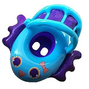 Amazon.com: Xch Robots bebé Flotador De La Piscina, Inflable ...