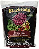 Sun Gro 1490302.Q08P Black Gold Earthworm Castings, 8 quart
