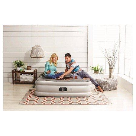 Amazon.com: Embark alta Queen de aire colchón doble con ...