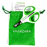 Harzara Professional Pet Nail Clippers. Best for a Cat - Puppy - Kitten. Bonus Storage Bag & Instruction Card. Large Rubbered Finger Holes - Left Right Handed. A Great Small Nail Trimmer for Grooming