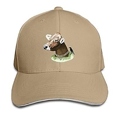 Fenme Cow Animals Man Unisex Sandwich Caps Cute Snapback Hats Casual Trucker Hats Graphic Snapback Cap