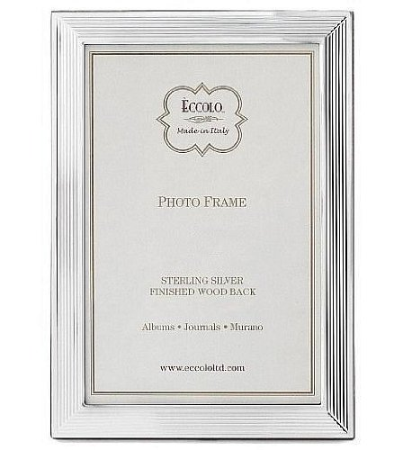 LINES Fine .925 Sterling Silver frame from Italy by Eccolo™ - 8x10 by Eccolo