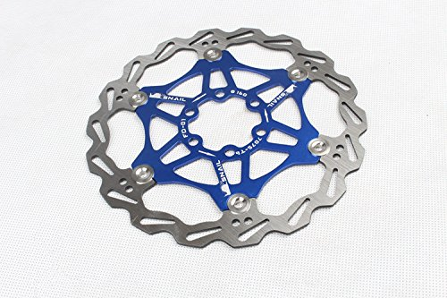 [해외] 160 mm 불锈钢骑행상디车자행车디스크 브레이크 로터 5 색가选